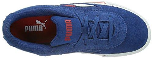 Puma  Puma S Evolution Jr, Peu mixte enfant Bleu - Blau (limoges-white-high risk red 05)