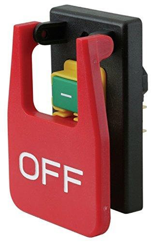 tock IP55220volt-240volt 18A (Ersatzstecker) 5E4Tischkreissägen elektromagnetischen Knopf switch Paddel Switch für BENCH Holz-Saw Maschine, kjd17b-16 ()