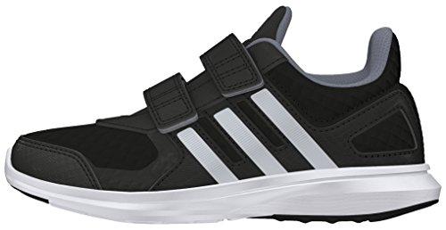 adidas Hyperfast 2.0 CF K, Chaussures de Running Compétition Mixte Enfant, 33 EU noir