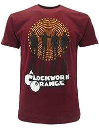 e94fcf1eaa T-Shirt Bordeaux Rouge du Film Orange mécanique A Clockwork Orange -  Officielle Stanley Kubrick