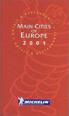 Le Guide rouge 2001 : Mains Cities of Europe