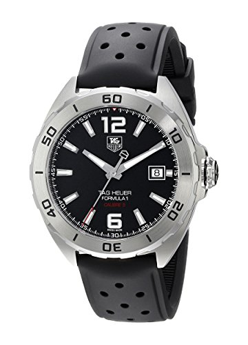 Tag Heuer uomo formula 141mm rubber Band orologio automatico WAZ2113.FT8023