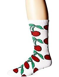 Huf Pop It Crew Socks White