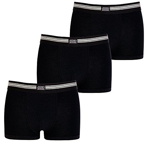 jockey-3er-pack-enger-herren-boxer-shorts-s-farbe-999-3-x-schwarz-trunks-pants