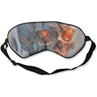Sleep Eye Mask Oil Skull Abstract Lightweight Soft Blindfold Adjustable Head Strap Eyeshade Travel Eyepatch E7 preisvergleich bei billige-tabletten.eu