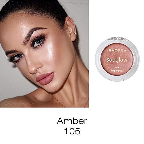 LEEDY Ombre à PaupièRes Glow Bronzer Phoera Surligneur Maquillage Shimmer Cream Visage Highlight Eye