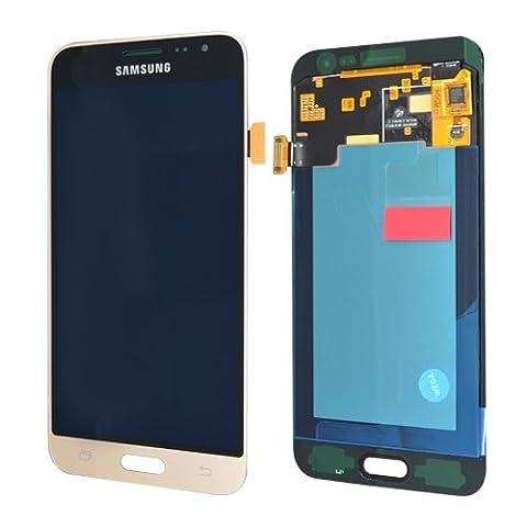 écran LCD Samsung j320F Galaxy J32016original Full Set Doré–Écran LCD + écran en verre + écran tactile + électronique