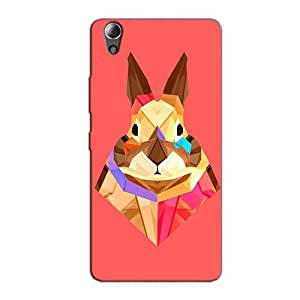 MULTICOLORED HARE BACK COVER FOR LENOVO A6000