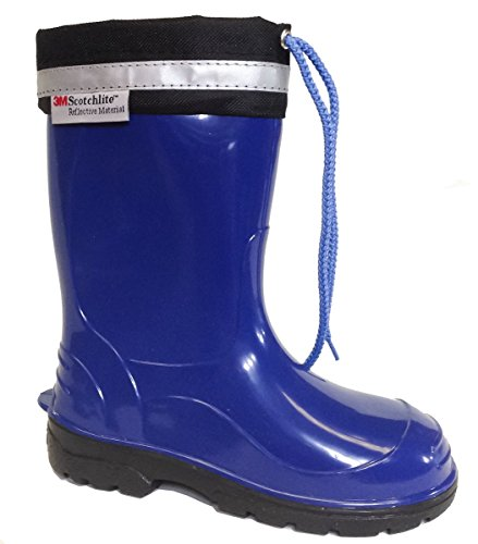 Lemigo Kim Kids Boys Girls Childrens Wellington Boots Rainy Snow Wellies