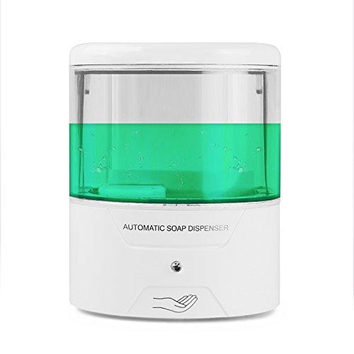 Seifenspender Sensor,LemonBest Automatische Wand Seifendosierer Lotionspender IR-Sensor Touch-free Seife Lotion Pumpe für Küche Badezimmer Hotel