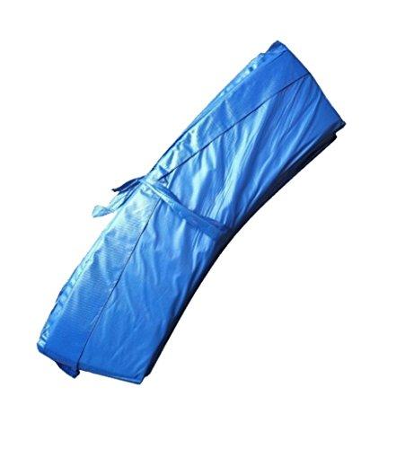 awshop24 Trampolin Randabdeckung Blau Federnabdeckung 396-400 cm Ø Zubehör
