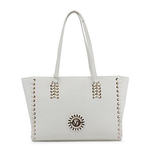 Sp-stores Sac à main femme blanc détail clous - Versace Jeans 6de805a0ba0