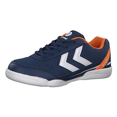 Hummel Unisex-Kinder Root JR LC Trophy Multisport Indoor Schuhe, Blau (Poseidon 8616), 36 EU
