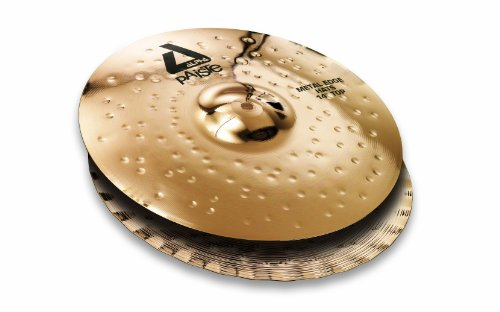 PAISTE ALPHA BRILLIANT HI HAT 14 POLLICI METAL EDGE