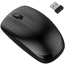 JETech 2.4Ghz ratón óptico inalámbrico , con 6 meses vida de la batería