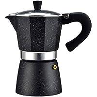 Redstrong Portable Aluminio Stovetop Eléctrico Café Express Moka Pot Maker Filtro de Calefacción Latte Cup para Oficina en casa