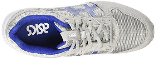 Asics Shaw Runner Unisex-Erwachsene Sneaker Grau (light Grey/monaco Blue 1349)