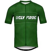 Uglyfrog Magliette Uomo Ciclismo Mountain Bike Cyclng Jersey Manica Corta Camicia Top Abbigliamento ciclismo Estate Style #25