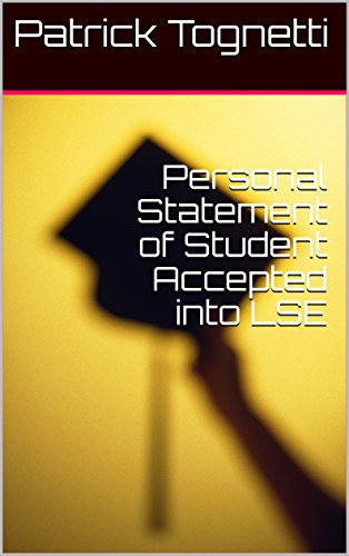 Personal Statement of Student Accepted into LSE eBook