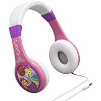 Disney Princess Headphones with built in volume limiting feature for safe listening for kids