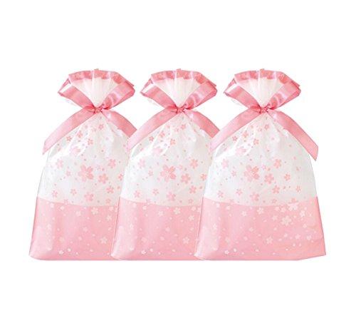 Favor Taschen, Kunststoff Kordelzug Geschenk Leckerli-Beutel, Candy Cookie Tasche für Hochzeit Party Brautschmuck Baby Dusche Geburtstag Verlobungsring Weihnachten Holiday Favor blume (Geschenk-taschen Für Baby-dusche-bevorzugungen)