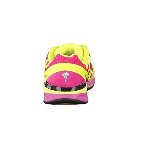 Kempa ATTACK TWO Damen Handballschuhe fluo gelb/violett/rot