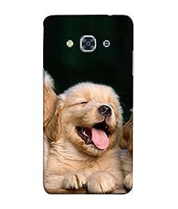 PrintVisa Designer Back Case Cover for Samsung Galaxy J3 Pro :: Samsung Galaxy J3 (2017) (Cute Little Puppies Design)