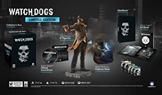 Watch Dogs-Limited Edition by Ps3 (B00DYAQHZ0) | Amazon Products