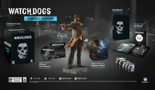 Watch Dogs Limited Edition - PlayStation 4 (Dogs Watch Limited Edition)