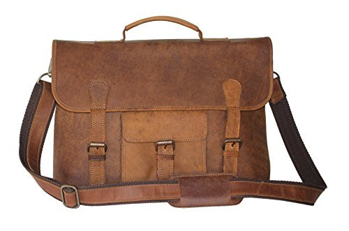 Lust handgemacht Distressed Leder Messenger Laptop Tasche (Messenger Leder Distressed Laptop)