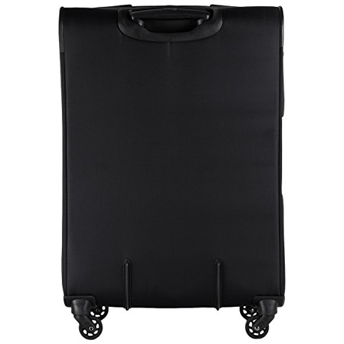 Delsey Manitoba luggage Trolley Esp 4R 78 black noir
