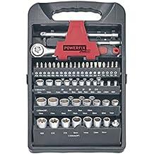 Juego llaves de Vaso Herramientas Powerfix 61 piezas