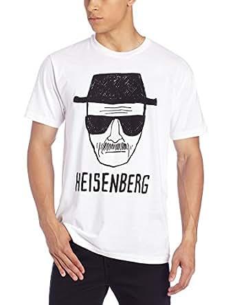 Breaking Bad Heisenberg Sketch Homme Lightweight Blanc T-Shirt   S