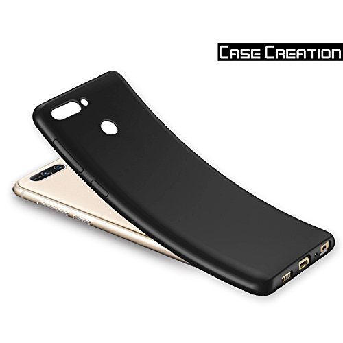 """Case Creation (TM) 100% Transparent Flexible Soft Black Border Corner protection with TPU Slim Matte Back Case Back Cover For Huawei Honor 8 Pro / Huawei Honor 8Pro / Huawei Honor V9 5.7"""" inch"""