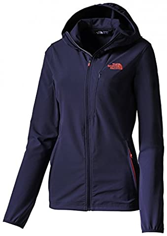 The North Face W Full Zip Hoody - patriot blue, Größe:XS