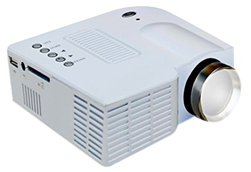 Zync P100 Mini LED Cinema Projector with HDMI, AV, VGA, USB & SD Ports With 1Year Warranty