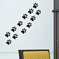 Cat paws dog home Vinyl Wall Sticker Decor Decal Mural KItchen Pet car window graphics room decoration wallpaper