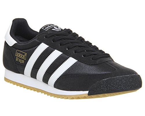 adidas Dragon OG, Baskets Homme Noir (Core Black/ftwr White/gum 3)