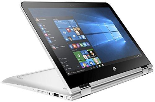HP Pavilion X360 13-U004TU Laptop (Windows 10, 4GB RAM, 1000GB HDD) Natural Silver Price in India