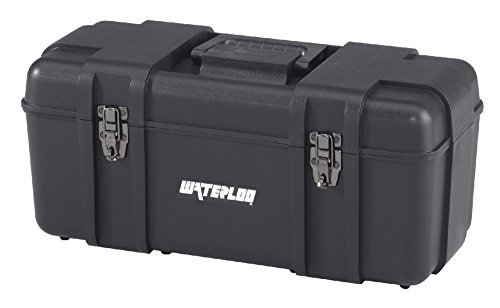 Waterloo Portable Series Tool Box made with Lightweight Industrial-Strength Plastic, 20 by Waterloo -