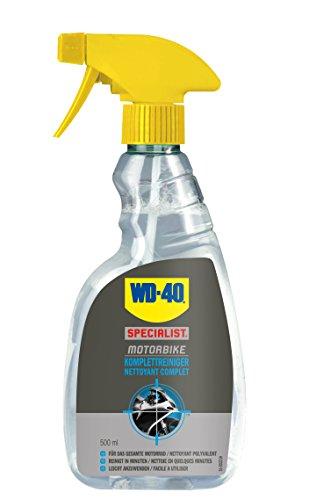 WD-40 Motorbike Komplettreiniger 500Ml, 1 Stück, Farblos, 49242
