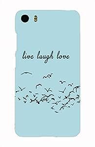 Back Cover for Xiaomi Mi5 Live Laugh Love