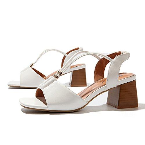 Sommer römisch rauh mit sandalen/Britische fische mund high heels sandalen C