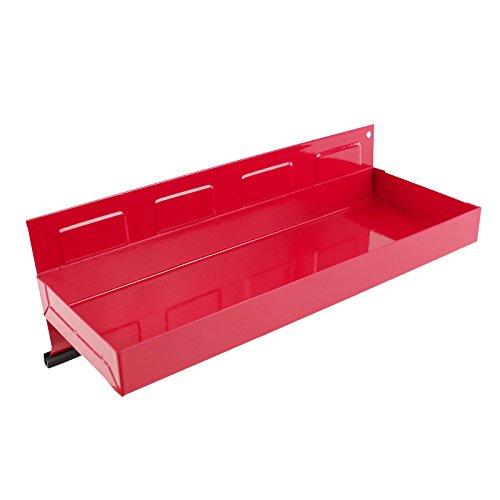 Werkzeugablage magnetisch 31×11,5cm rot Metall Ablage Zubehör Werkstattwagen - 2