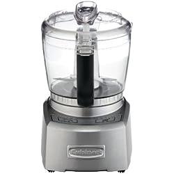 Cuisinart CH4DCE Mini-Préparateur Double sens Rotation, Hacher, Mixer, Fouetter, Émulsionner, Moudre