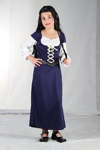 Maid Marion - Childrens Costume - Grande - 134 a 146 centimetri