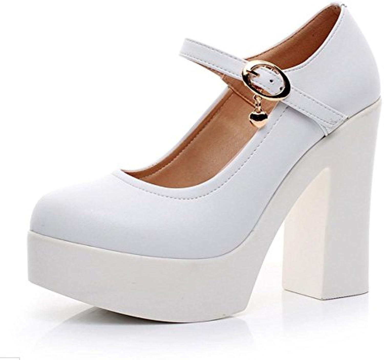 b34462929ac0e4 Mme Spring chaussures ascenseur muffin chaussures à à  à fond épais chaussures talons hauts , US5.5 / EU35 / UK3.5.