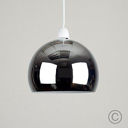 Mini Pantalla Arco MiniSun en Cromo para Lámpara Colgante de Techo Es
