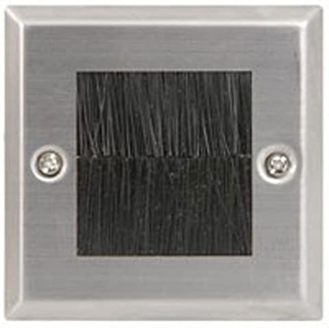 MHP® Single Brush Wall Plate Face Plate