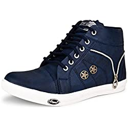 ESSENCE Men's Sneakers Blue Synthetic 9